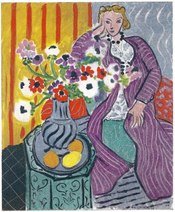 Matisse - Purple Robe and Anemones
